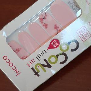 2/$18 New Coconut/Incoco nail strips Blossom Blush